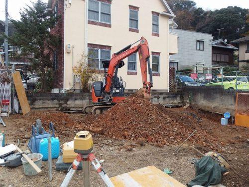 土工事開始
